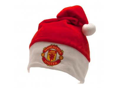 Manchester United FC Supersoft Santa Hat