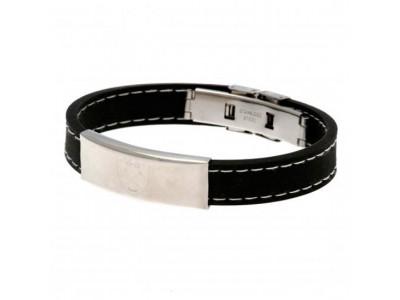 West Ham United FC Stitched Silicone Bracelet