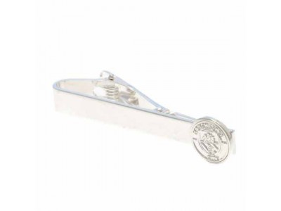 Manchester City FC Silver Plated Tie Slide