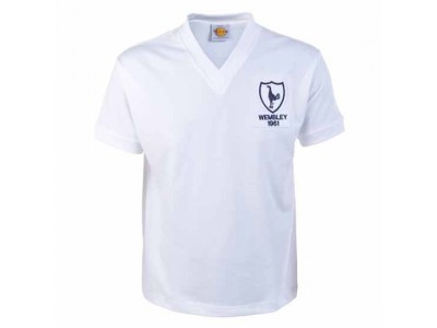 Tottenham Hotspur 1961 Wembley Retro Football Shirt