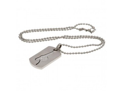 Arsenal FC Dog Tag & Chain CO GN