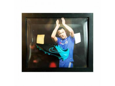 Chelsea FC Terry Signed Boot (Framed)