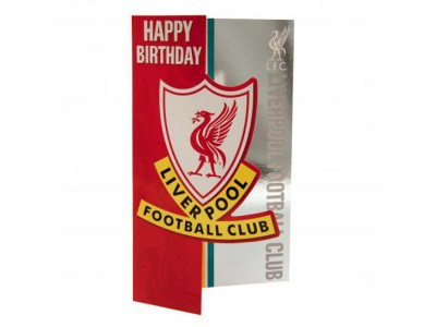 Liverpool FC Birthday Card