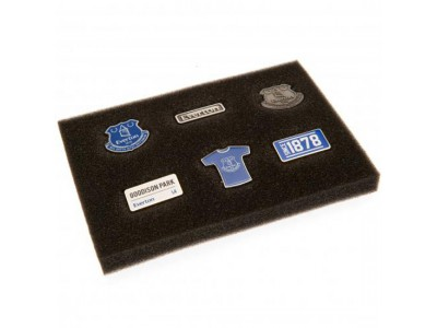 Everton FC 6 Piece Badge Set