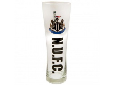 Newcastle United FC Tall Beer Glass
