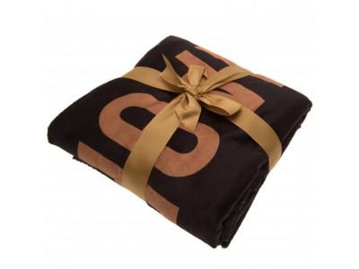 Newcastle United FC Sherpa Fleece Blanket