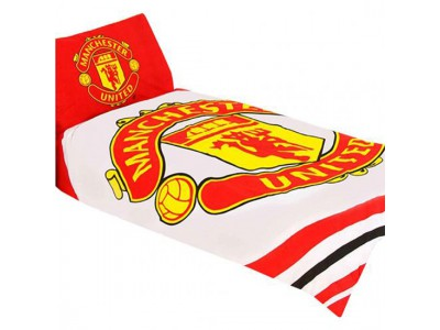 Manchester United FC Single Duvet Set PL