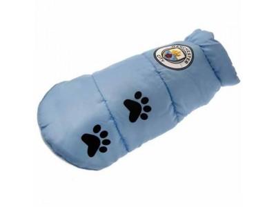 Manchester City FC Dog Coat Large