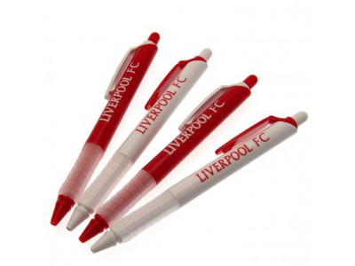 Liverpool FC 4 Pack Pen Set