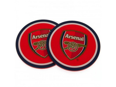 Arsenal Fc 2 Pack Coaster Set