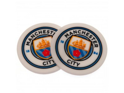 Manchester City FC 2 Pack Coaster Set