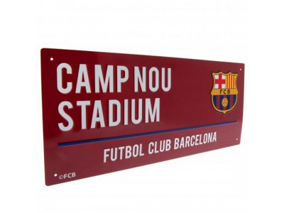 FC Barcelona Street Sign CL