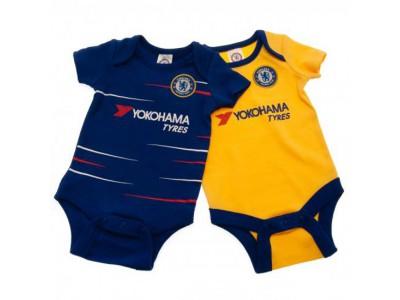 Chelsea FC 2 Pack Bodysuit 12/18 Months TS