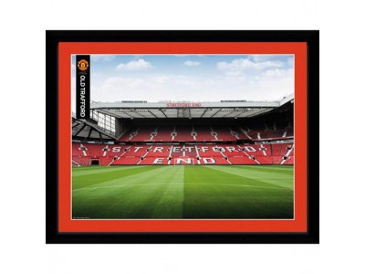 Manchester United FC Picture Stretford End 16 x 12