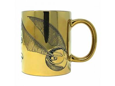 Harry Potter Metallic Mug Snitch