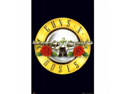 Guns N Roses Poster Logo 166