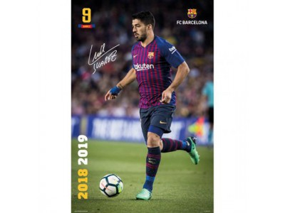 FC Barcelona Poster Suarez 28
