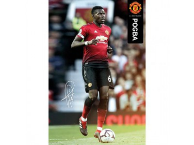 Manchester United FC Poster Pogba 49