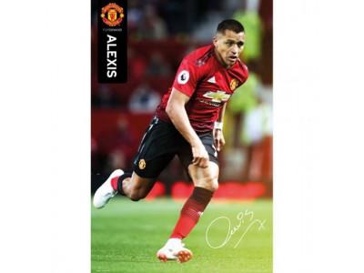 Manchester United FC Poster Alexis Sanchez 55
