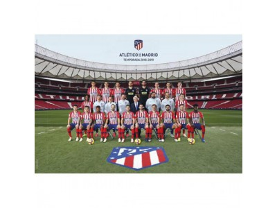 Atletico Madrid FC Poster Squad 66