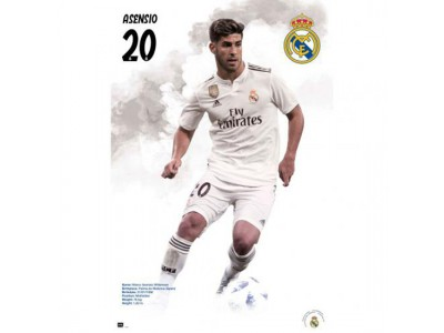 Real Madrid FC Poster Asensio 57