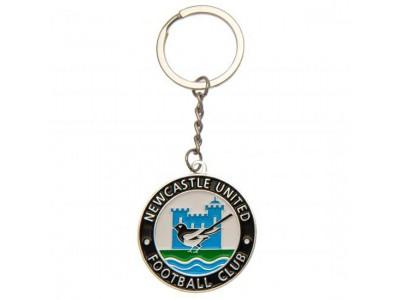Newcastle United FC Keyring Retro
