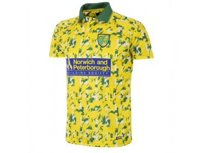 Norwich FC 1992 - 94 Short Sleeve Retro Football Shirt