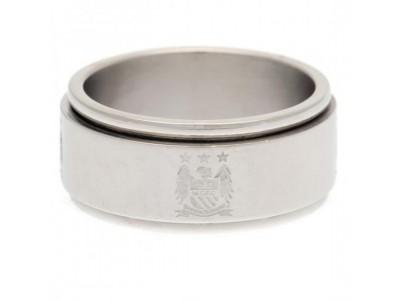 Manchester City FC Spinner Ring Medium EC