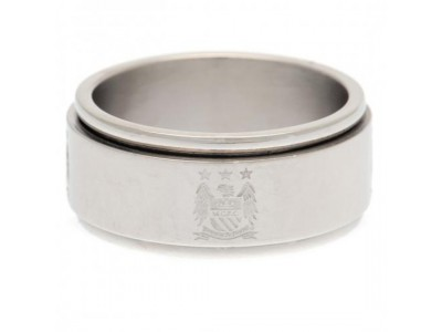 Manchester City FC Spinner Ring Large EC