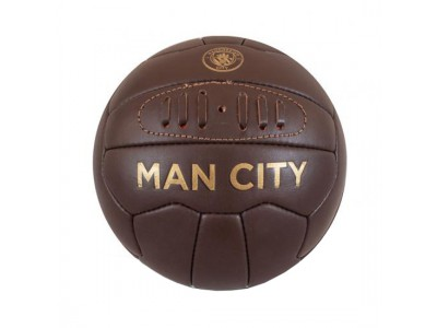 Manchester City FC Retro Heritage Mini Ball