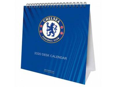 Chelsea FC Desktop Calendar 2020