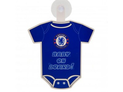 Chelsea FC Baby On Board Sign