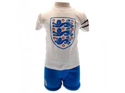 England FA T Shirt & Short Set 2/3 Years