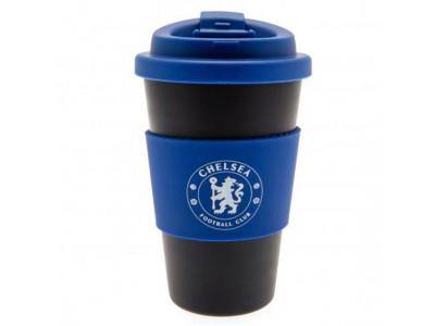Chelsea FC Silicone Grip Travel Mug