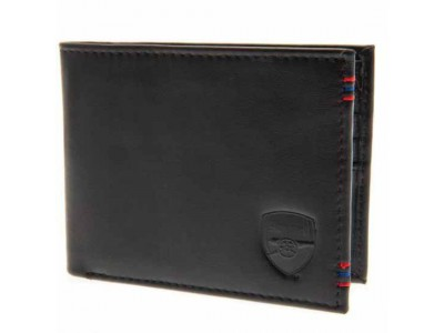 Arsenal FC Leather Stitched Wallet