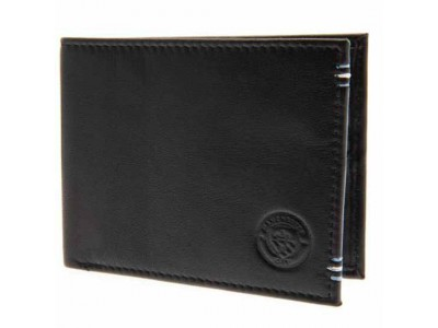 Manchester City FC Leather Stitched Wallet