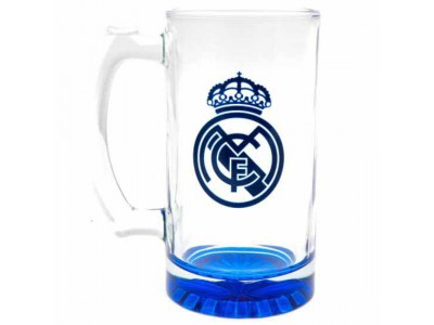 Real Madrid FC Stein Glass Tankard CC