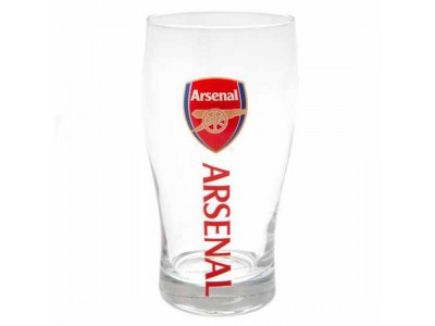 Arsenal FC Tulip Pint Glass