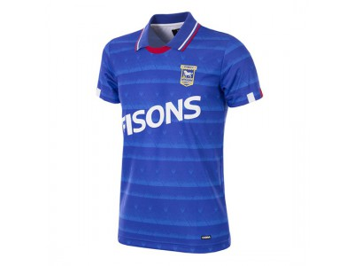 Ipswich Town FC 1991 - 92 Short Sleeve Retro Football Shirt