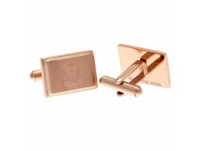 Liverpool FC Rose Gold Plated Cufflinks
