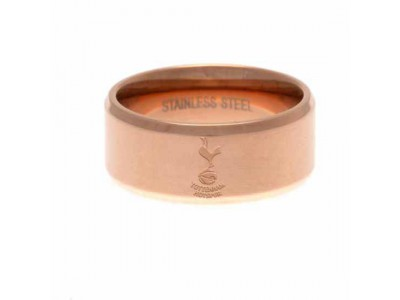 Tottenham Hotspur FC Rose Gold Plated Ring Small