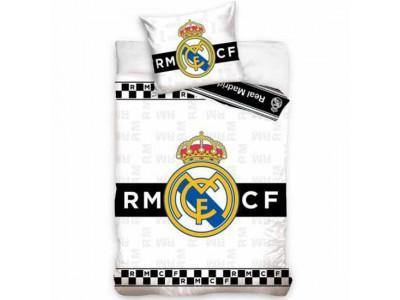 Real Madrid FC Single Duvet Set BW