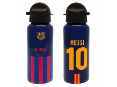 FC Barcelona Aluminium Drinks Bottle Messi