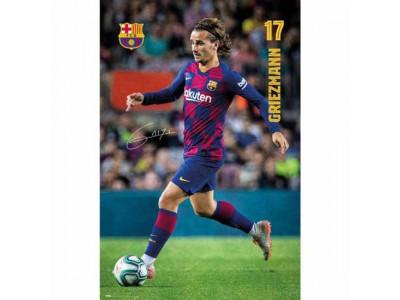 FC Barcelona Poster Griezmann 3