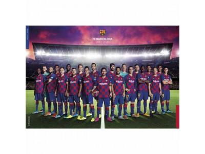 FC Barcelona Poster Squad 21