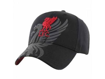 Liverpool FC Cap Obsidian Black
