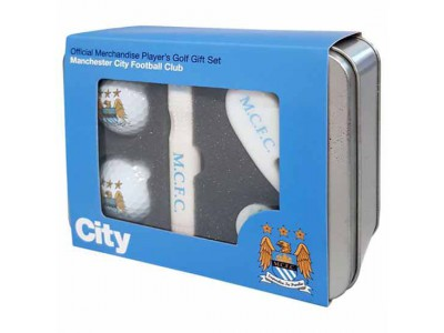 Manchester City FC Players Golf Gift Set
