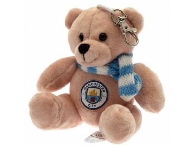 Manchester City FC Bag Buddy Bear