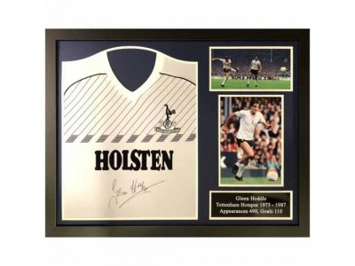 Tottenham Hotspur FC Hoddle Signed Shirt Framed