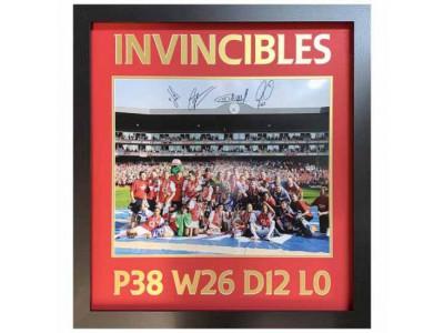Arsenal FC 2004 Invincibles Signed Framed Print